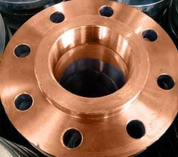 "FORGED THREADED STEEL FLANGE 4"" COPPER NICKEL 90/10 CLASS 150 FLANGE ANSI B16.5"