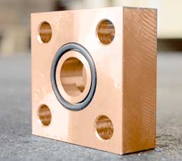 COPPER NICKEL ALLOY 90/10 SQUARE FLANGES