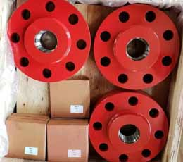 AISI 4130 UNS G41300 THREADED FLANGES