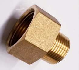 "M1/2"" X F3/4"" BSP Forged Brass Adaptor Reducer Fitting"