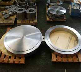 A350 LF2 CL1 Spectacle Blind Flanges, ANSI B16.48, CL1500, 2 Inch