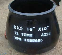 ASTM A234 WP9 Concentric Reducer, 12×10 Inch, SCH 80