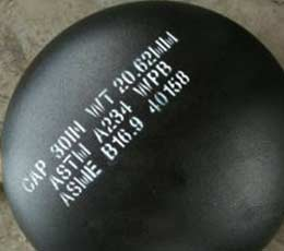 ASTM A234 WPB Pipe Cap, Seamless, SCH 60, 14 Inch