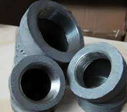 FORGED HIGH PRESSURE CARBON STEELS PIPE FITTING 1 INCH 3000LB NPT THREADED SOCKET ELBOW