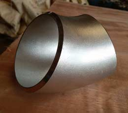 1 in. Butt Weld Schedule 40 304L Stainless Steel Long Radius 45 Degree Elbow