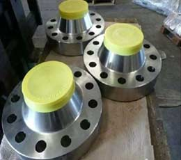 FORGED DN100 CLASS 150 RF SUPER DUPLEX STAINLESS STEEL ANSI WELD NECK FLANGE